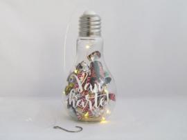 """Cadeau lamp """"Bedankt"""""""