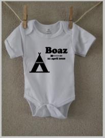 Romper  met naam | Design 'Boaz'
