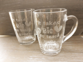 Theeglas | It takes a big heart to teach little minds