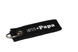 Vilten sleutelhanger Liefste papa