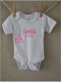 Romper met naam | design 'Anna'