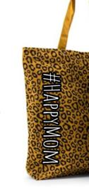 Katoenen Shopper | luipaardprint