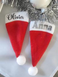 Kerstmutsjes Mini met naam | Bestek