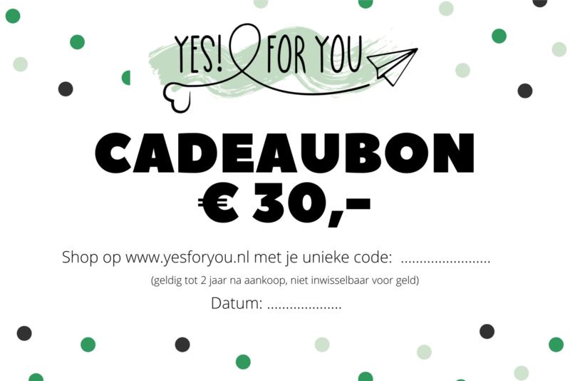Cadeaubon €30,-