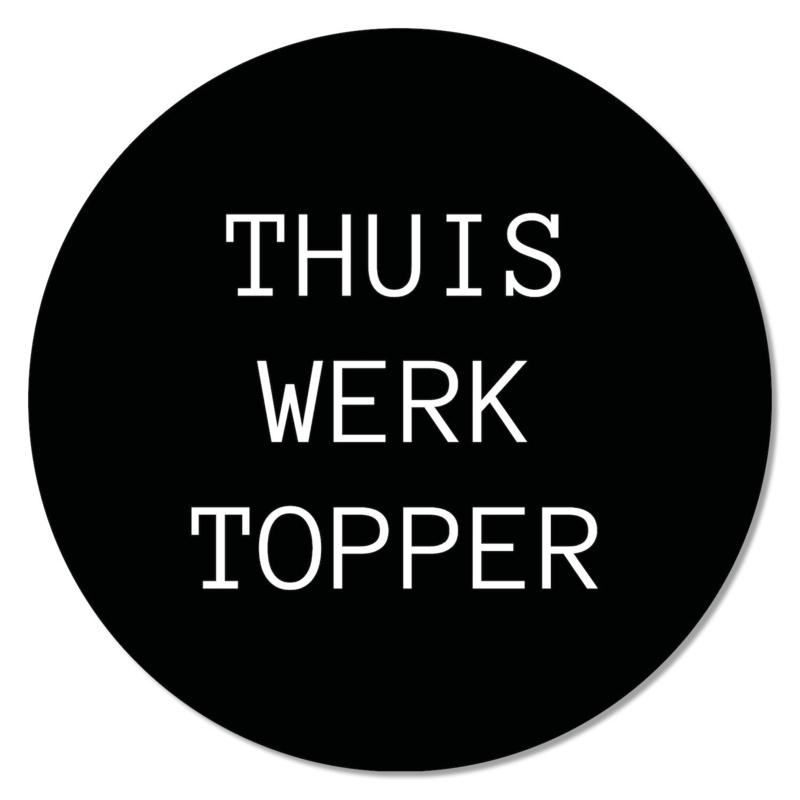 Muismat | 'Thuiswerk topper'