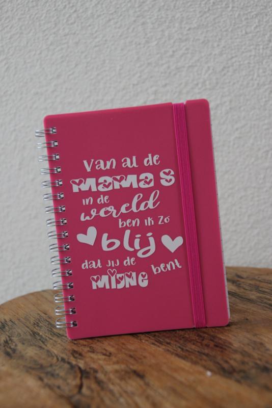 Notitieboekje 'Blij dat jij mijn mama bent'