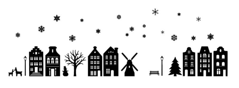 Grachtenpandjes | Winter