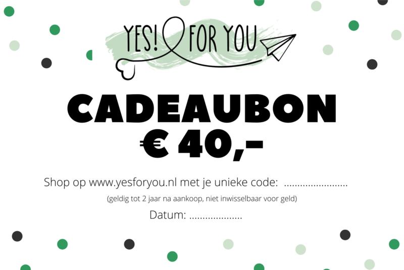 cadeaubon €40,-