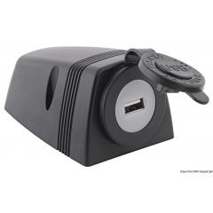 Stekkerdoos opbouw USB