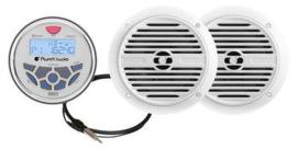 Compleet Marine Audio set
