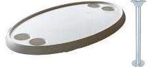 Ovale tafel 4