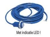 Kabel met contrastekker LED