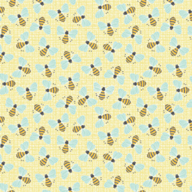 Bees Light Yellow 5475-03