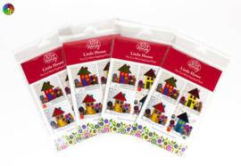 Wendy Williams Pre-cut Wool Applique Packs Little House