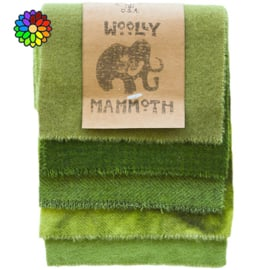 Woolly Mammoth set 9 Greens WM009