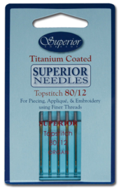 Machinenaalden Superior Topstitch 80/12