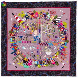 Round the garden quiltpatroon
