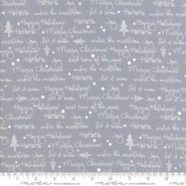 White Christmas Silver 1652-18M