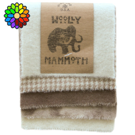 Woolly Mammoth set 1 Naturals WM001