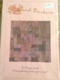De Restjes Quilt quiltpatroon