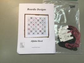 B.5 borduurpatroon Alfabet bord