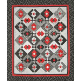 Samurai Squares quiltpatroon