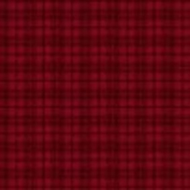 Plaid Deep Red MASF18502-R