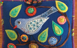 Woolly Zip it Bag quiltpatroon