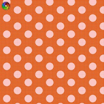Tilda Dots Ginger 130007