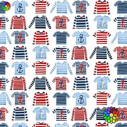 Striped T-shirts 4409-7