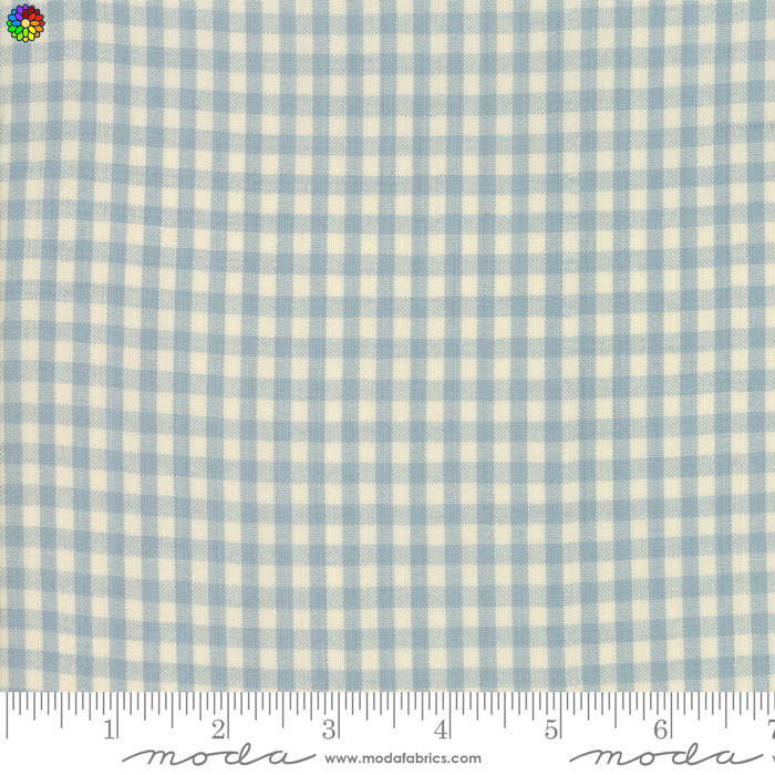 Norhport Silky Check Light Blue 12215-12