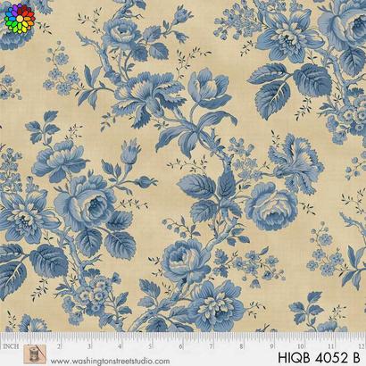 Roses Blue HIQB4052-B