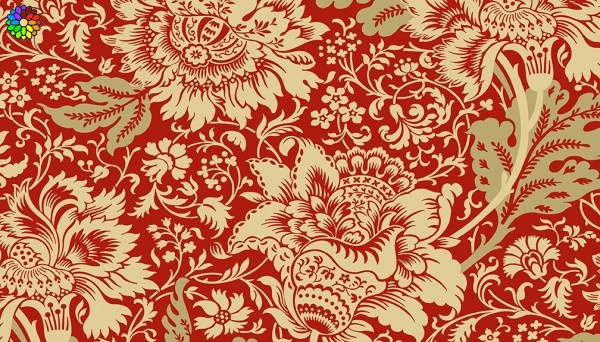 Jacobean Red 9083-R