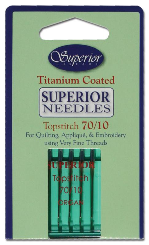 Machinenaalden Superior Topstitch 70/10
