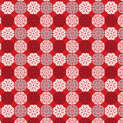 Paper Cut Flakes Red 4586-10