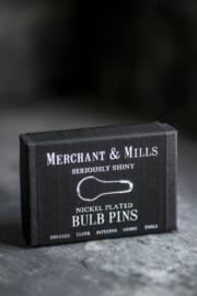Merchant & Mills Nickel plated Bulb Pins
