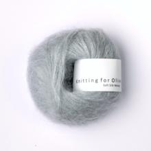 Knitting for Olive Soft Silk Mohair Soft Blue