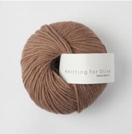 Knitting for Olive Heavy Merino Brown Nougat
