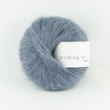 Knitting for Olive Soft Silk Mohair Dusty Dove Blue