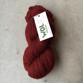 British Wool 4ply  Ladybug Red