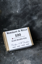 Merchant & Mills Glass Headed Pins