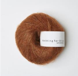 Knitting for Olive Soft Silk Mohair  Copper