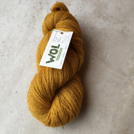 British Wool 4ply  Melon Yellow