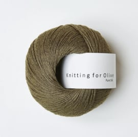 Knitting for Olive Pure Silk Olive