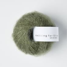 Knitting for Olive Soft Silk Mohair Dusty Sea Green