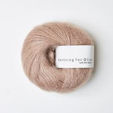 Knitting for Olive Soft Silk Mohair Rose Clay