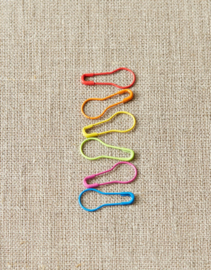 Opening Colored Stitch Markers - CocoKnits