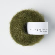 Knitting for Olive Soft Silk Mohair Slate Green