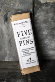 Merchant & Mills Five Boxes of Pins
