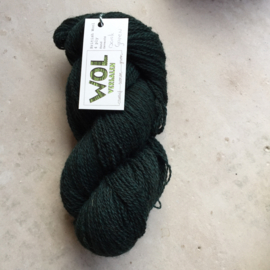 British Wool 4ply  Dark Green